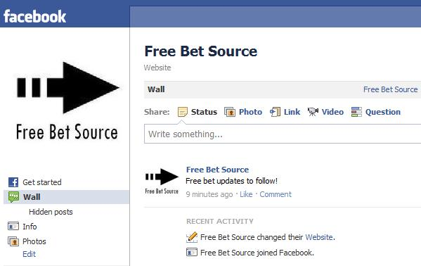 Facebook Free Bets